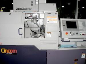 Cincom Sliding Head L20 5M8 CNC